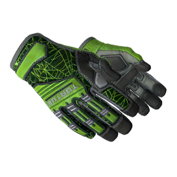 Specialist Gloves - Emerald Web